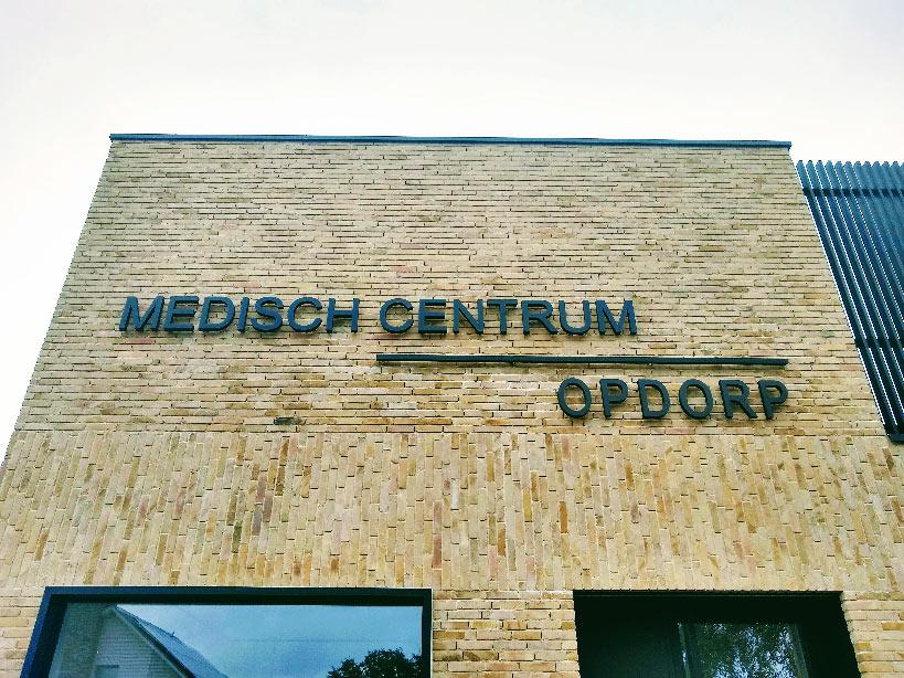 Voorgevel gebouwen Medisch Centrum Opdorp